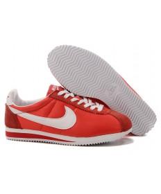 Nike Classic Cortez Nylon sneakers Rot Weiß für damen