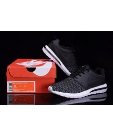 Nike Roshe Run Hyp QS 3M Trainer sneakers Schwarz / Dim grau