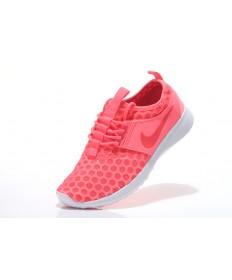 Nike Roshe Run damen Volcanic rot / Weiß Trainer schuhe