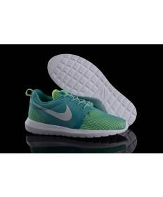 Nike Roshe Run NM BR 3M Licht Seagrün / Fluorescent grün / weiß Trainer sneakers