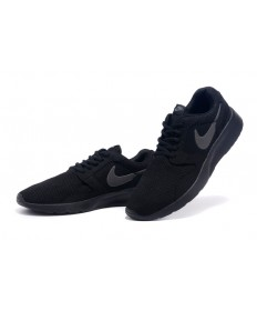 Nike Roshe Run herren Alle schwarze sneakers