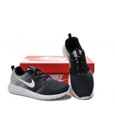 Nike Roshe Run Trainer schuhe Schwarz-Weiß-Gradienten