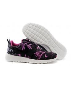 Nike Roshe Run Air 3M schwarz / lila sneakers der damen