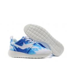 Nike Roshe Run Air 3M schuhe Himmelblau / Weiß