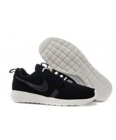 Nike Roshe Run NM BR 3M Suede herren Schwarz / Beige schuhe