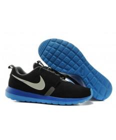 Nike Roshe Run NM BR 3M Suede herren schwarz // Hellgrau sneakers Trainer