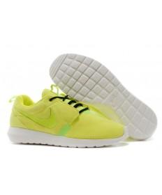 Nike Roshe Run NM BR 3M Suede herren Reflective Gelb / Schwarz-Trainer-schuhe