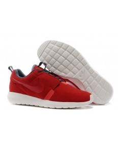 Nike Roshe Run NM BR 3M Suede herren Feuer-Ziegelstein / Schwarz / Dim grau sneakers Trainer