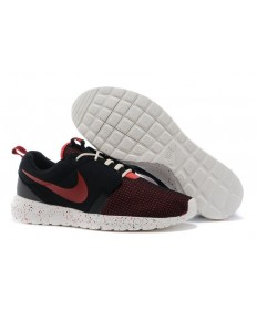 Nike Roshe Run NM BR 3M Kohle schwarz / Alarm rot / Segel weiße sneakers für Herren