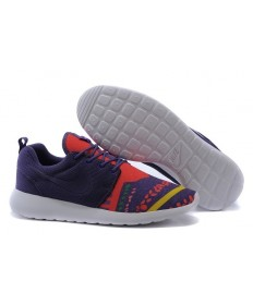 Nike Roshe Run Trainer sneakers Lovers Lila / orange-rot / gelb