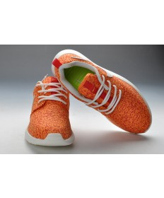 Nike Roshe Run Orange / Weiß damen sneakers