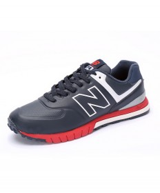 New Balance 574 Revlite tief cyan rot Trainersneakers