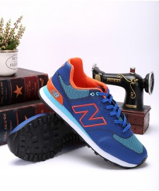 New Balance ML 574 GY blau / royal blau / orange sneakers