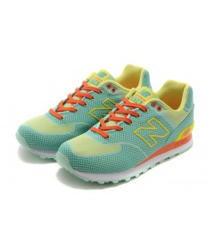 New Balance ML 574 GY grün, gelb, orange sneakers Trainer