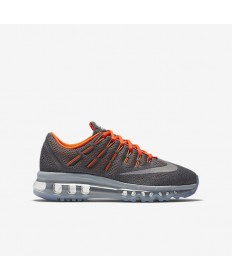 Nike Air Max 2016 Cool Grey / Total Orange / Schwarz / Silber Reflektieren sneakers