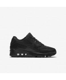 Nike Air Max 90 Mesh-sneakers Schwarz / Schwarz
