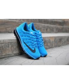 Nike Air Max 2016 Dodger blau / schwarzherren Trainersneakers