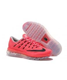 Nike Air Max 2016 Licht Coral / Schwarz / Grau Trainer