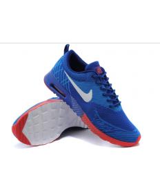 Nike Air Max Thea Trainer schuhe Königsblau / Dodger blau / weiß / orange-rot für Herren