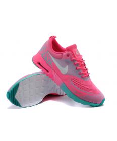 Nike Air Max Thea Trainer heiß Rosa/ Grün / Grau für damen
