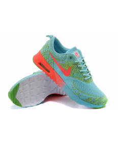 Nike Air Max Thea Medium Turquoise / orange-rot / gründamen sneakers