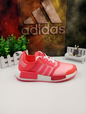 Adidas NMD Trainer rot, rosa, weiß