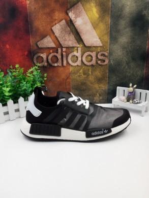 Adidas NMD schuhe schwarz weiß
