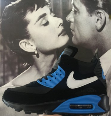 Nike Air Max 90 Hightop schwarz blauherren sneakers sneakers