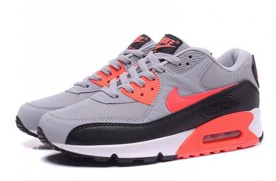 Nike Air Max 90 grau-rot-schwarze sneakers sneakers