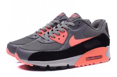 Nike Air Max 90 tiefgrau-orange sneakers