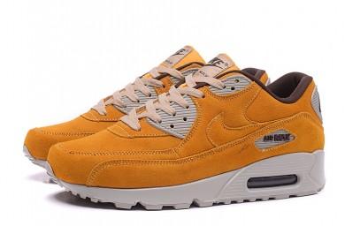 Nike Air Max 90 trainers GoldEnrod-grau