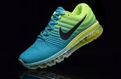 Nike Air Max 2017 blau-grüne schuhe für Herren