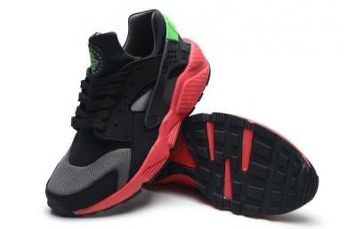 Nike Air Huarache leicht schwarz, pink, grün schuhe