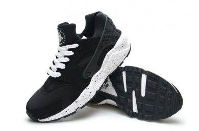Nike Air Huarache leicht schwarz Trainersneakers