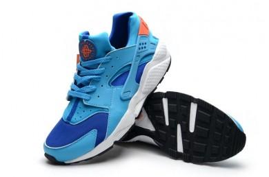 Nike Air Huarache Hyper Rosa DeepSkyblau / orange sneakers sneakers für Herren