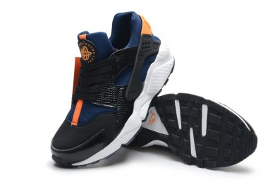 Nike Air Hurache Wmns schwarz königsblau Orange sneakers