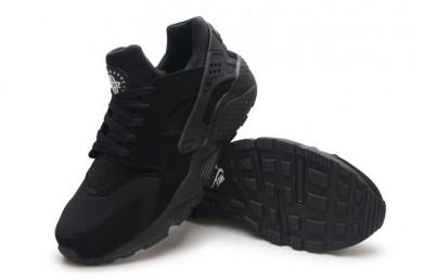 Nike Air Huarache Triple schwarz Trainer schuhe