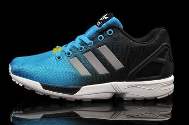 "Adidas ZX Flux ""Reflective"" schuhe skyblau Trainer"