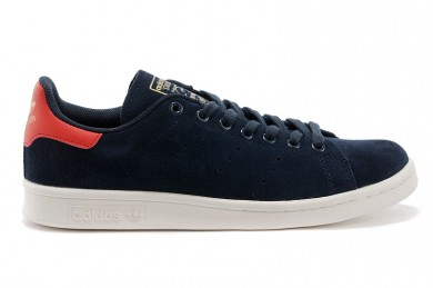 Adidas Stan Smith indigo / rot Trainersneakers