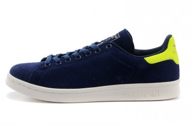 Adidas Stan Smith indigo / Fluogrün sneakers