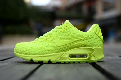 Nike Air Max 90 City Göttin fluo gelb sneakers