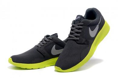 Nike Roshe Run Herren Schwarz / Dim grau sneakers