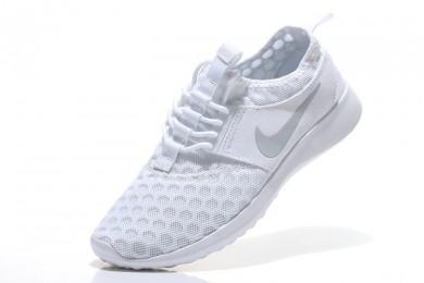 Nike Roshe Run damen Weiß / Grau Trainersneakers