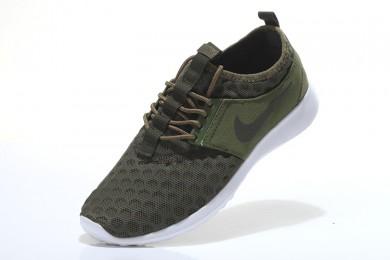 Nike Roshe Run damen Dunkel olivgrün / Braun sneakers