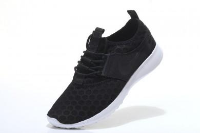 Nike Roshe Run damen Schwarz / Weiß schuhe