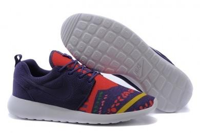 Nike Roshe Run Trainer sneakers Lovers Lila / orange-rot / gelb