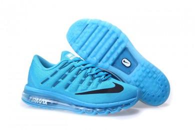 Nike Air Max 2016 Deep sky blau / schwarzherren Trainer schuhe
