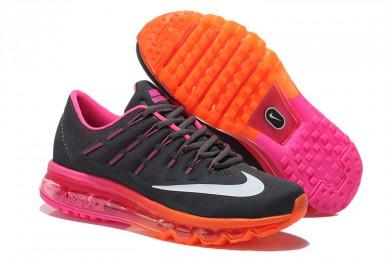 Nike Air Max 2016 Schwarz / Fuchsia / weiß / orange schuhe