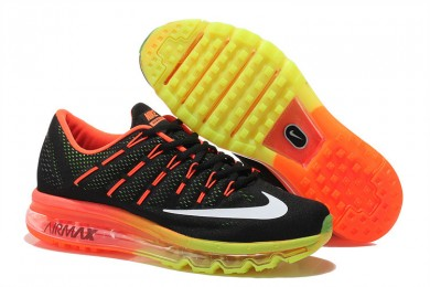 Nike Air Max 2016 Orange / Schwarz / Weiß / Gelb sneakers