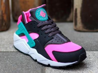 Nike Air Huarache leicht schwarz rose sky blau sneakers